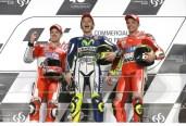 Valentino Rossi dan Duo Andrea Ducati Losail MotoGP 2015