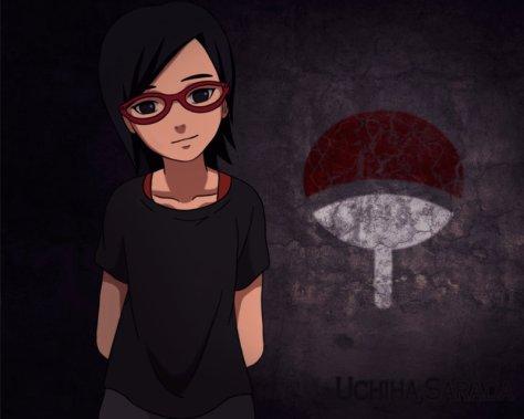 Sara Uchiha dan logo Klan nya