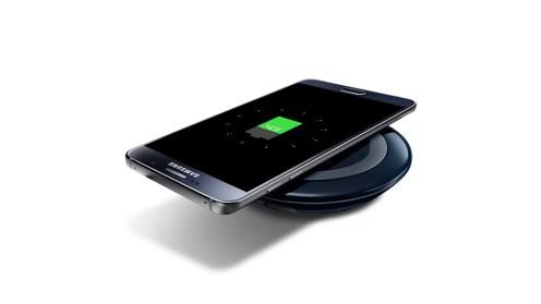 Warna Hitam dengan Quick Wireless Charging Samsung GALAXY Note 5