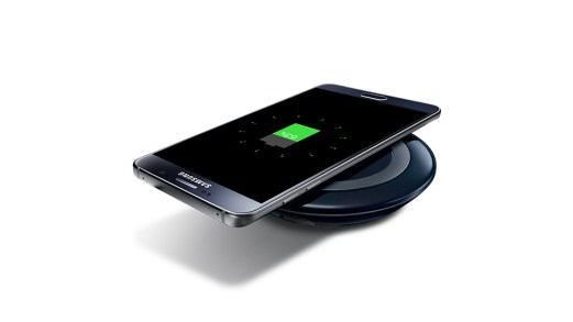 Warna Hitam dengan Quick Wireless Charging Samsung GALAXY Note 5