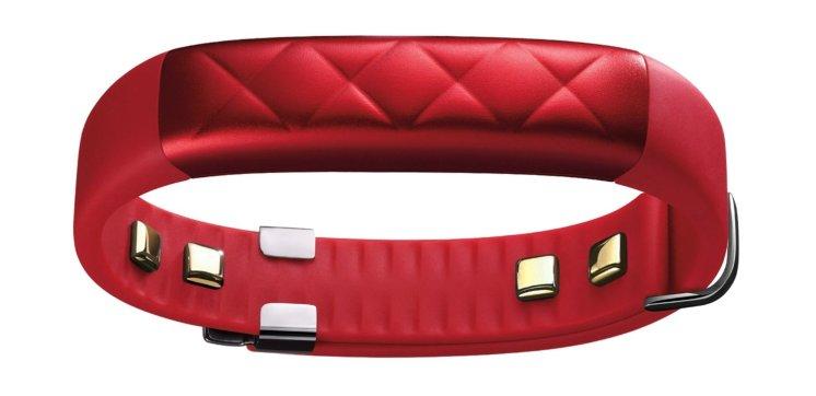 Jawbone UP3 warna merah menyala