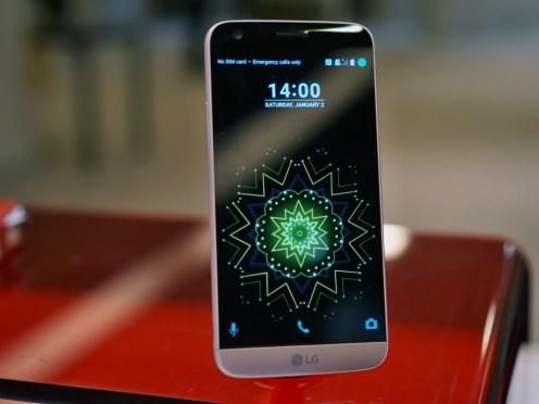 LG G5 Tampak Depan