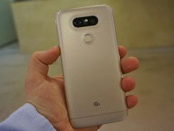 Tampak Belakang LG G5 dengan Fingerprint dan Dual Camera