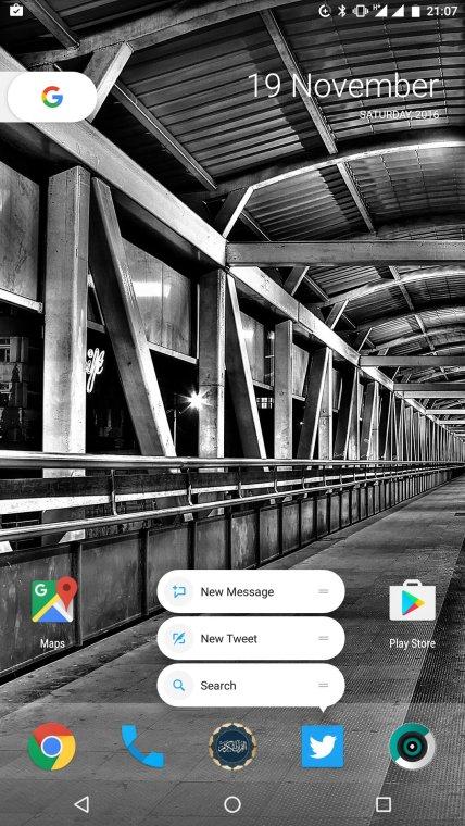 Quick Shortcut di CM-14.1 di Xiaomi Mi5