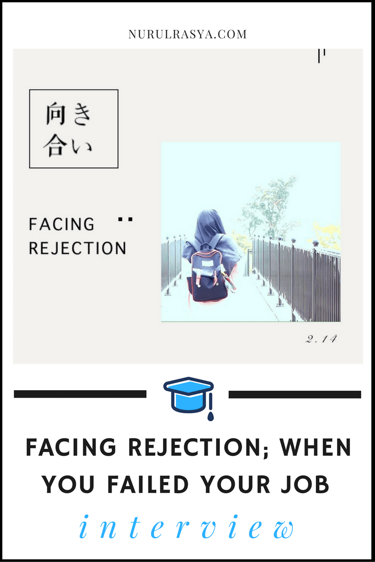 facing rejection failed job interview