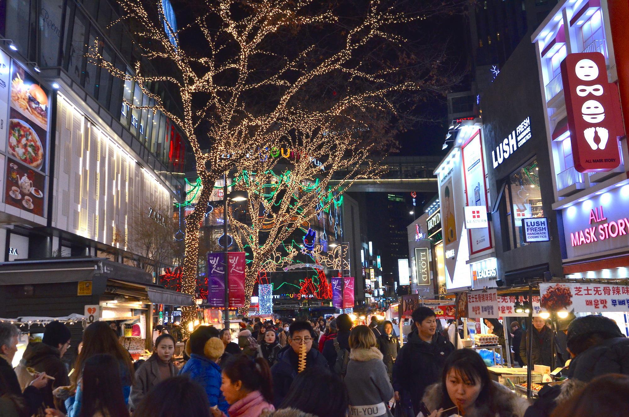 myeongdong night