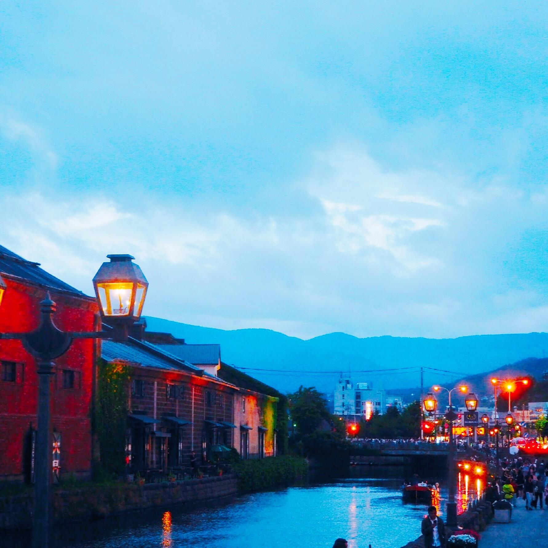 otaru night view