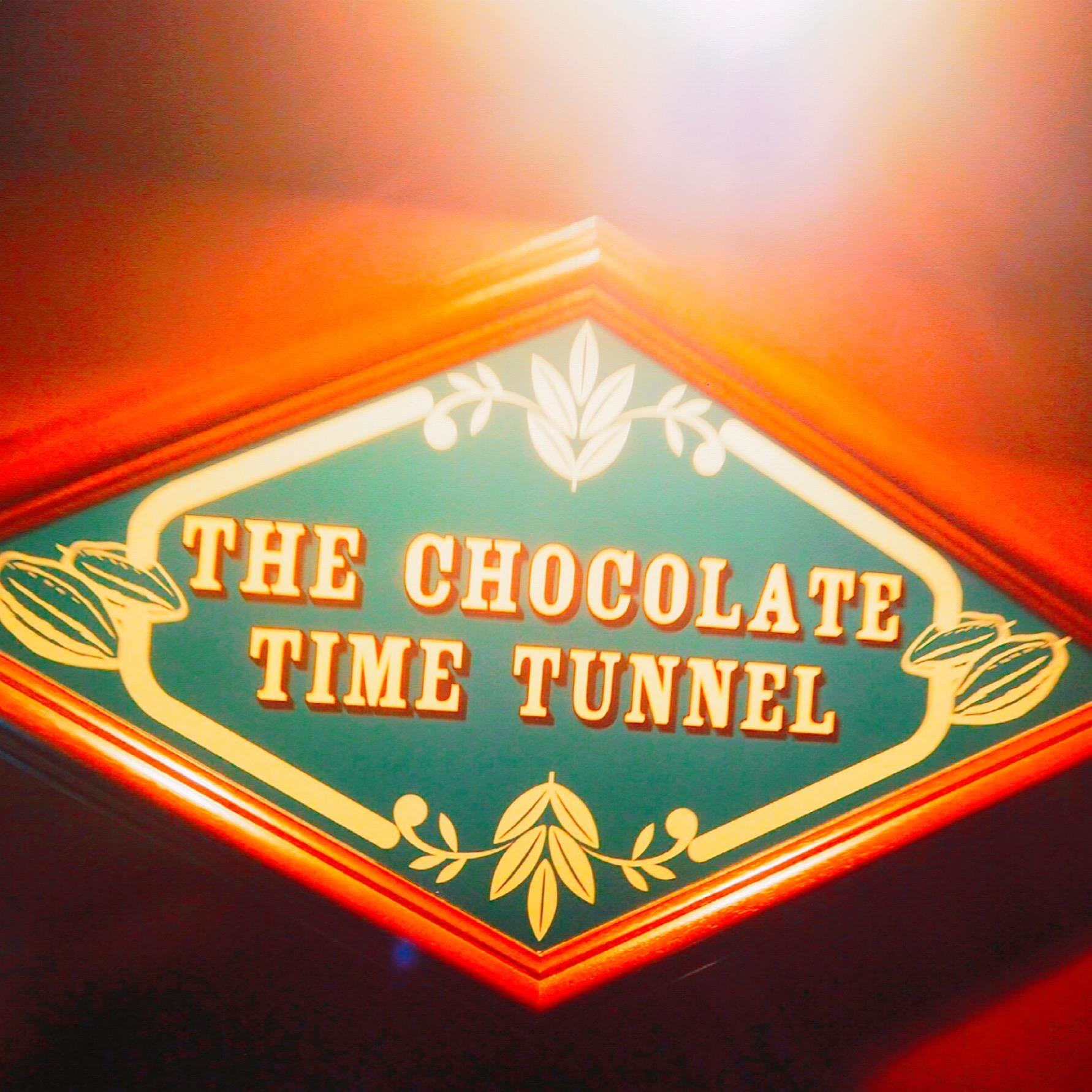 the chocolate time tunnel