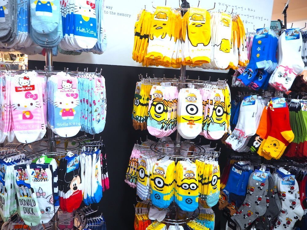 cute-cheap-socks-myeongdong