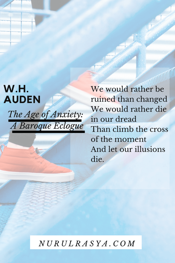 W.H. Auden - The Age of Anxiety