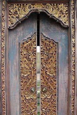 Kori Kuwadi Balinese Traditional Door  nurvata interior