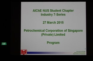 Corporate Sponsor PCS in NUS for 7-Series 2015 March!
