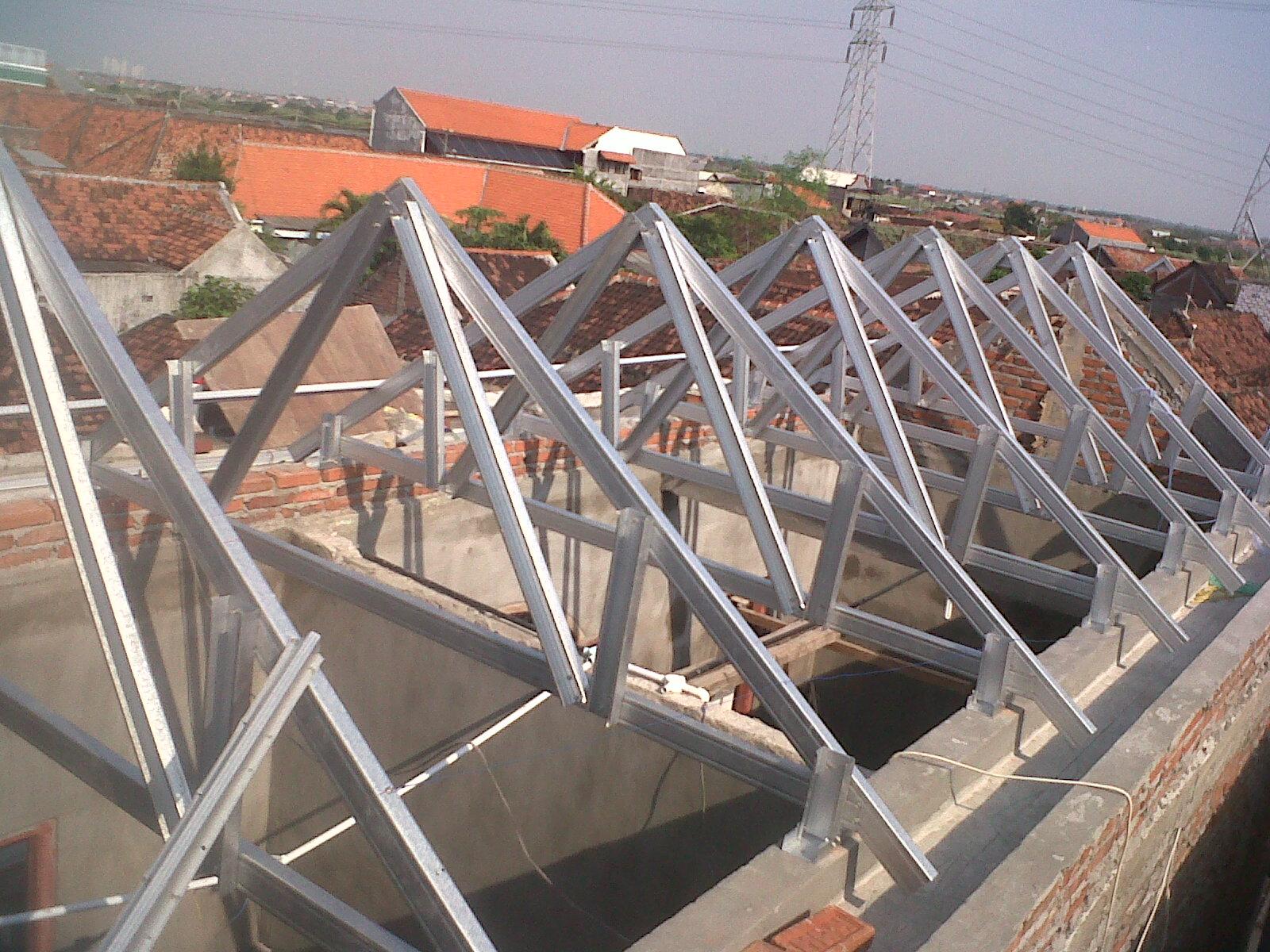 pasang atap baja ringan di cianjur alas malang | nusantara galvalum