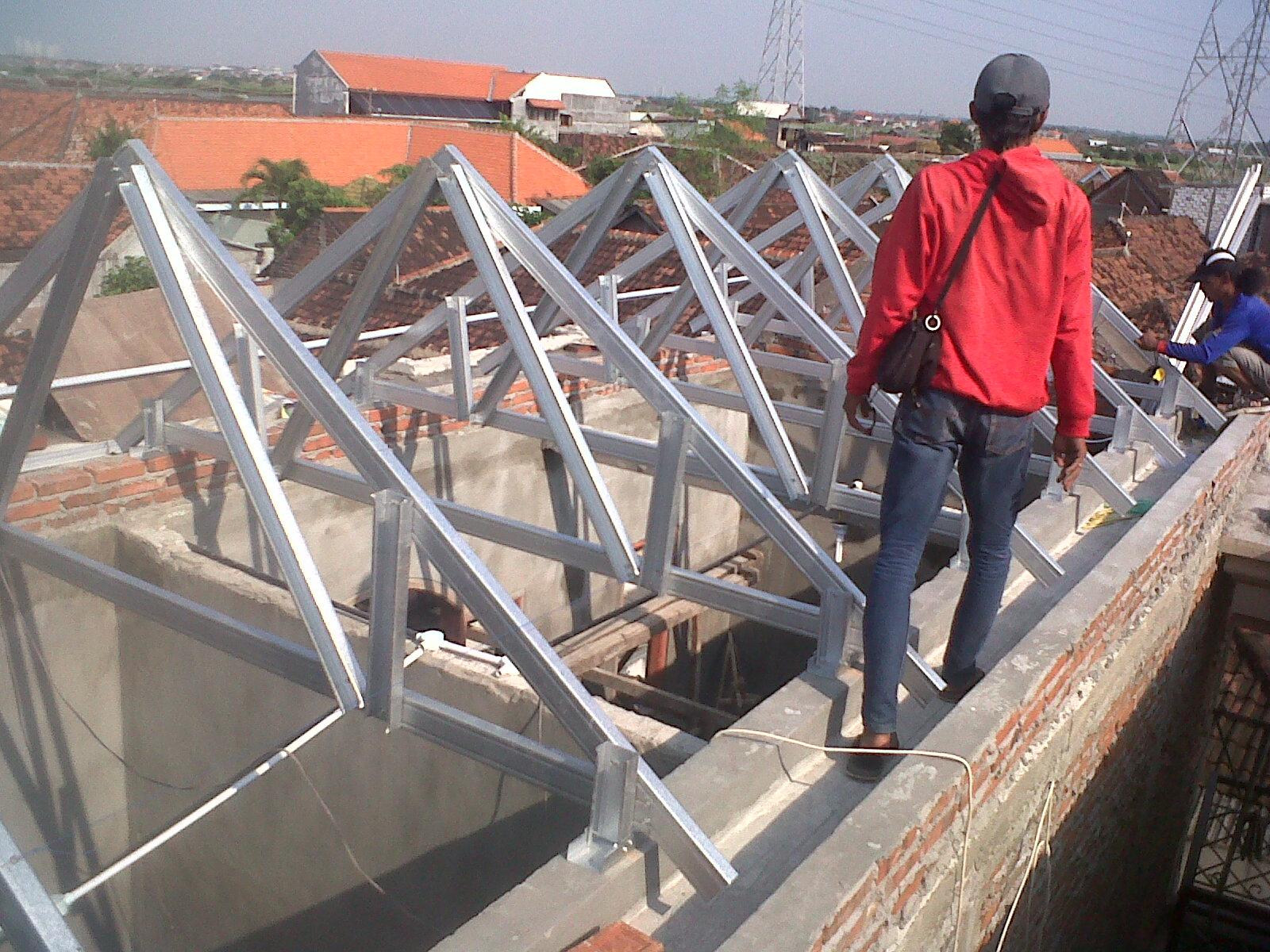 toko athiya gypsum & baja ringan kabupaten kudus jawa tengah project rangka atap galvalum di sumber rejo surabaya