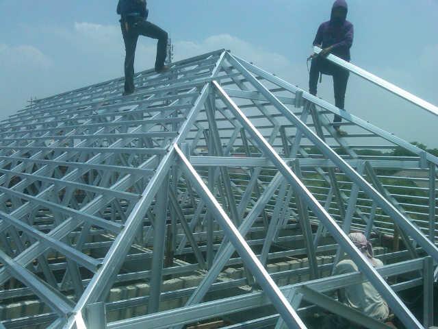 toko athiya gypsum & baja ringan kabupaten kudus jawa tengah project rangka atap galvalum di jalan sawunggaling