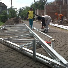 Pasang Atap Baja Ringan Cianjur Pondok Candra | Nusantara Galvalum