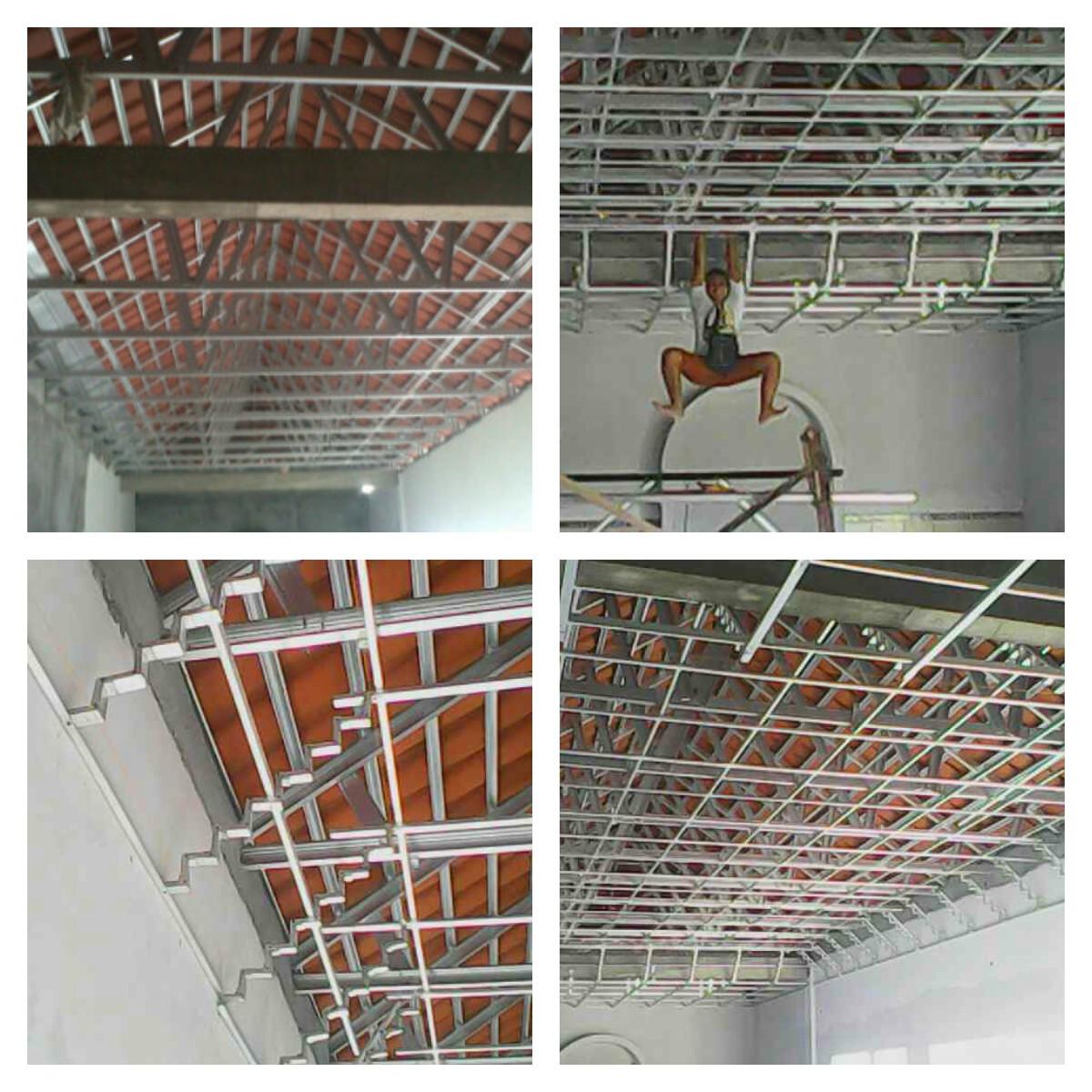 pasang atap baja ringan cianjur project rangka galvalum di jetis ...