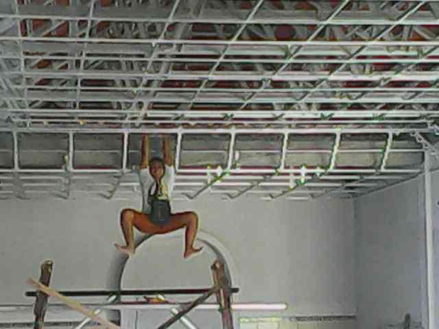 pasang atap baja ringan cianjur project pemasangan plafon gypsum di wringin anom, gresik ...
