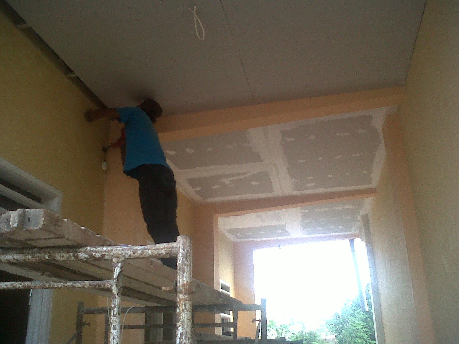 distributor baja ringan kencana pasang plafon   nusantara galvalum