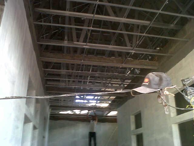 pasang atap baja ringan di cianjur plafon surabaya | nusantara galvalum