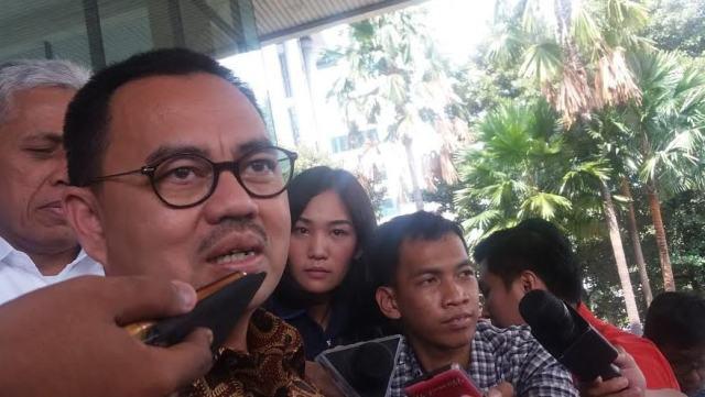 Menteri ESDM Sudirman Said sambangi KPK, Selasa (24/5/2016)/Foto: Rere Ardiansah/nusantaranews.co