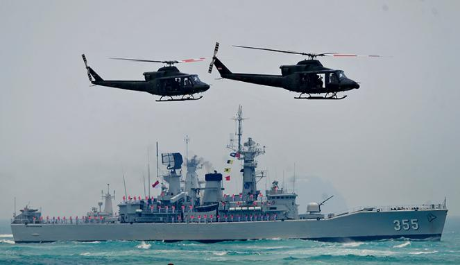 Alutsista TNI AL/Ilustrasi/Foto via Antara/Yudhi Mahatma