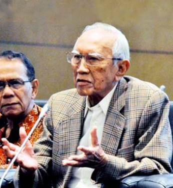 Sayidiman Suryohadiprojo/Foto Istimewa