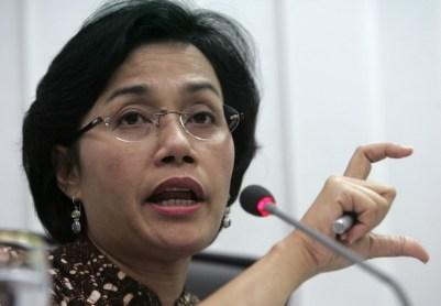 Menteri Keuangan Sri Mulyani Indrawat/REUTERS/Supri
