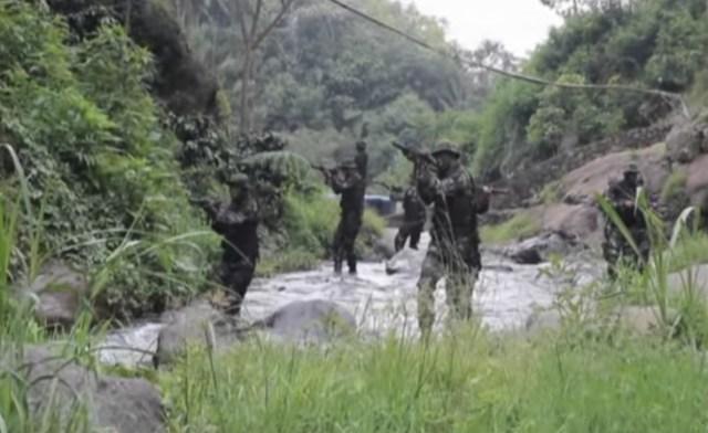 yonif 303 raider kostrad, sang penangkap Dalima di pedalaman Poso/Foto Nusantaranews