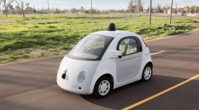 Mobil Otonomos Google/Reuters