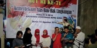 Pembacaan petisi/Foto nusantaranews/ist/mrh