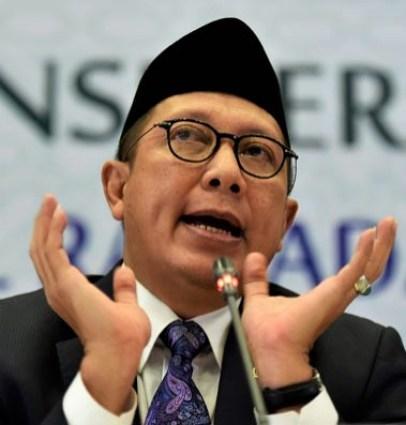 Menteri Agama Lukman Hakim Saifuddin/Foto: Antara/Puspa Perwitasari