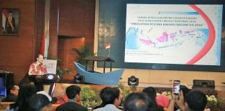Menpar Berikan Penghargaan pada Wartawan Pemenang Lomba Menulis Wisata Pesona Bahari/Foto nusantaranews