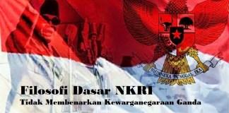 Filosofi Dasar NKRI Tidak Membenarkan Kewarganegaraan Ganda/Ilustrasi nusantaranews/latar by blogs.itb