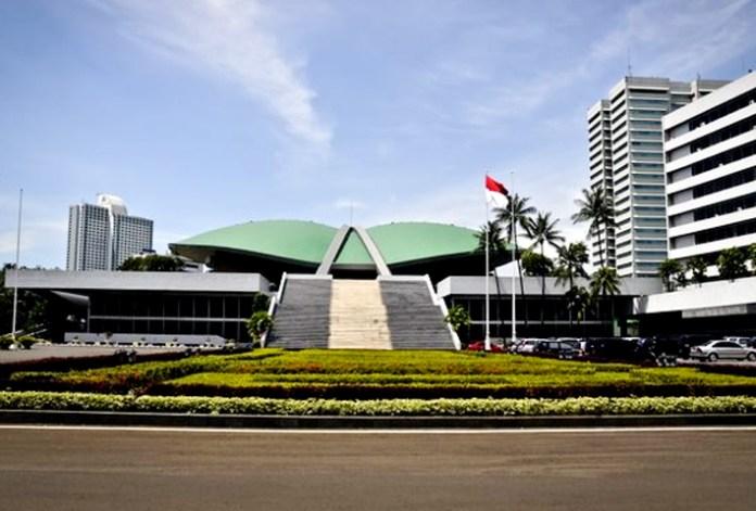 Ilustrasi Gedung DPR RI