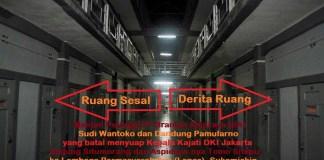 Koridor utara Lembaga Pemasyarakatan Sukamiskin, Bandung/Ilustrasi foto nusantaranews