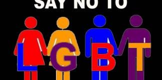Say No LGBT. Ilustrasi/Istimwa