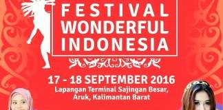 Festival Wonderfull Indonesia 2016 di Sambas/Ilustrasi Istimewa