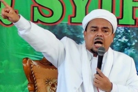 Ketua FPI Habib Rizieq Shihab/Foto Istimewa
