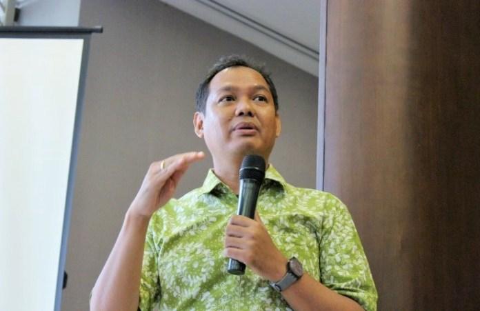 Pengamat tata kota dari Universitas Trisakti, Nirwono di Synthesis Square, kawasan Gatot Subroto, Jakarta, Kamis (20/10)/Foto Andika/Nusantaranews