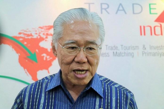 Menteri Perdagangan, Enggartiasto Lukita di Kemayoran, Jakarta, Kamis (13/10)/Foto Andika/Nusantaranews
