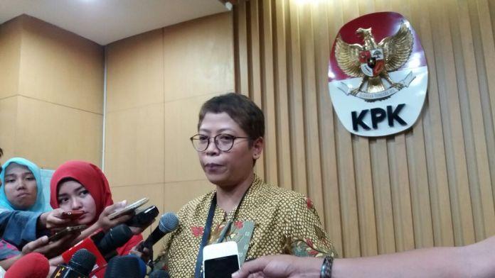 Pelaksana Harian (Plh) Kabiro Humas KPK Yuyuk Andriati/Foto Fadhilah/Nusantaranews