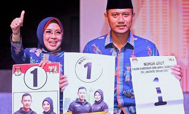 Dibanding dengan dana kampanye pasangan Anies Baswedan dan Sandiaga Uno, nominal dana awal kampanye Agus-Sylvi relatif lebih kecil/Foto: IST