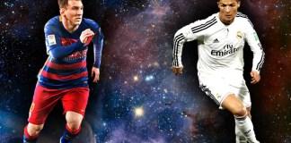 Rivalitas Messi dan Ronaldo, foto ilustrasi via michelacosta.com
