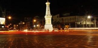 Tugu Pajupat Ikon Kota Yogyakarta/Foto: Emer