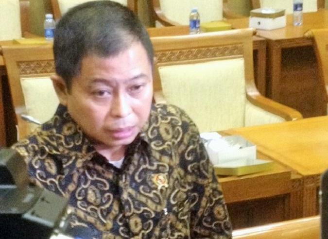 Menteri Energi dan Sumber Daya Mineral (ESDM), Ignasius Jonan/Foto Deni/Nusantaranews