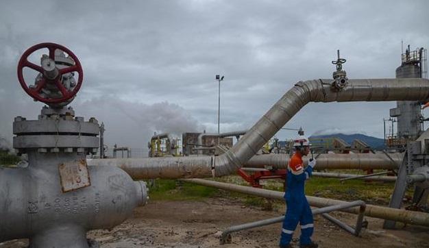 sumur produksi pertamina geothermal area ulubelu. Foto VIVA.co.id