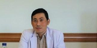 dr. Putut Sugiantoro, SpOT(K) dalam seminar umum Tips Mengenali dan Mengatasi Tulang Keropos yang digelar SHLV di Siloam Hospitals Lippo Village, Karawaci, Tangerang, Sabtu (12/3/2016)/Foto: dok. Siloam Hispitals