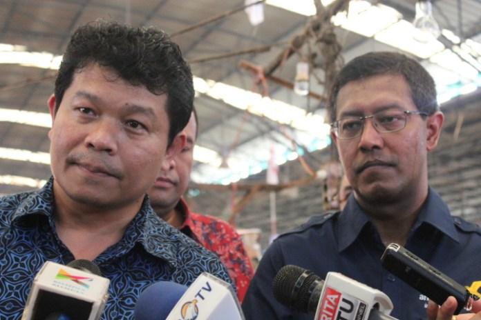 Direktur Administrasi dan Keuangan PD Pasar Jaya, Ramses Butar Butar/Foto Andika / Nusantaranews