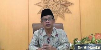 Ketua Umum PP Muhammadiyah Haedar Nashir/Foto: via YouTube